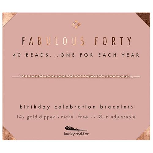 40 Birthday Gift Ideas — Bracelet for Women