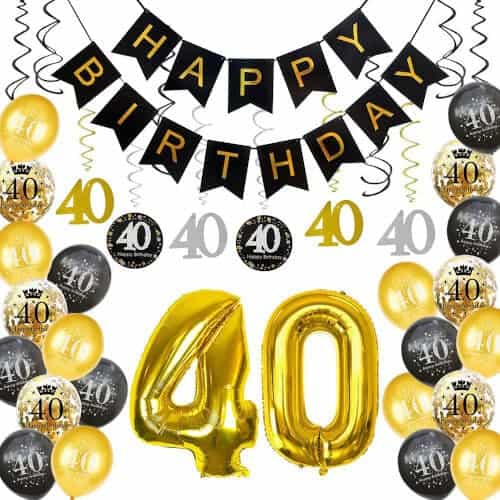 40 Birthday Gift Ideas — Decorations Party Supplies