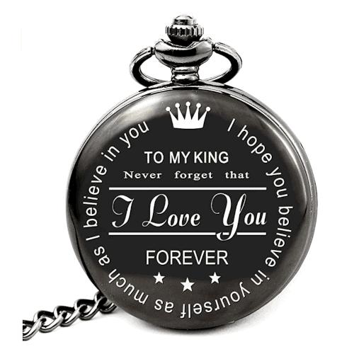 40 Birthday Gift Ideas — Personalized Pocket Watch