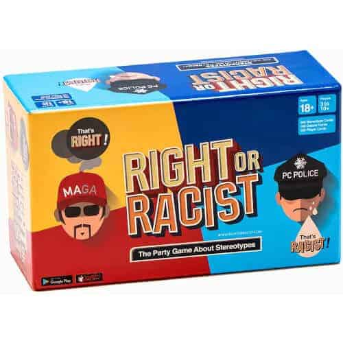 gift idea - Right Or Racist Party Game