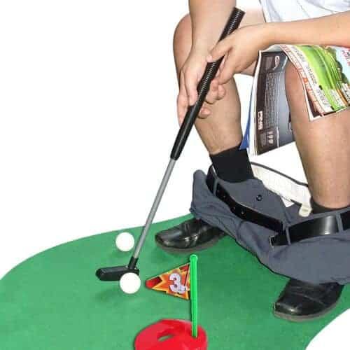 gift idea - Toilet Golf