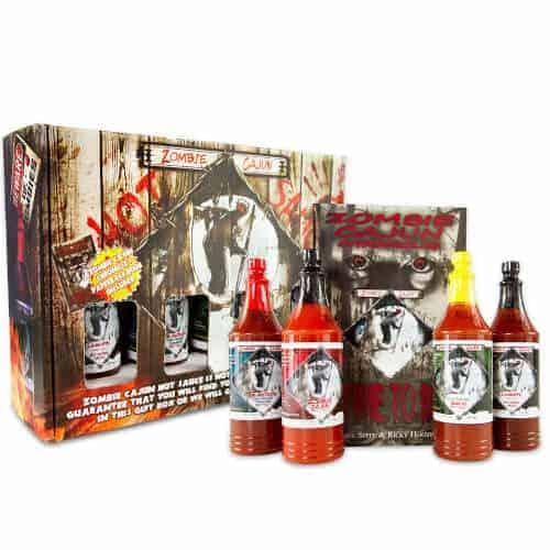 40 Birthday Gift Ideas — Zombie Hot Sauce Gift Set