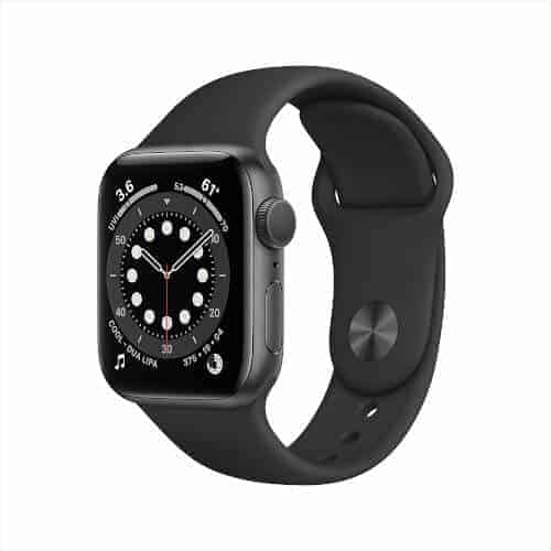 40 Birthday Gift Ideas — Black Apple Watch Series 6