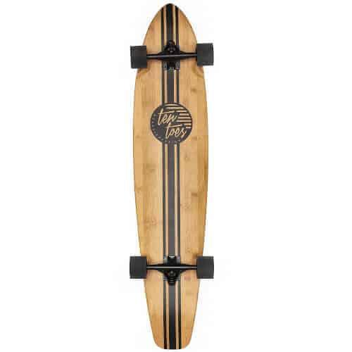 gift idea - bamboo longboard