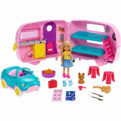 gift idea - barbie with accessories for small girls