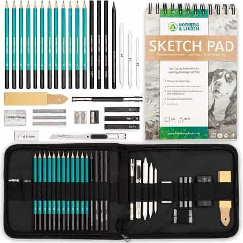 gift idea - drawing sketching set