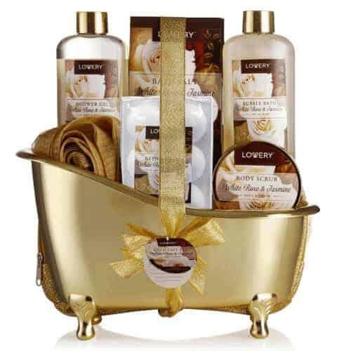gift idea - home spa kit