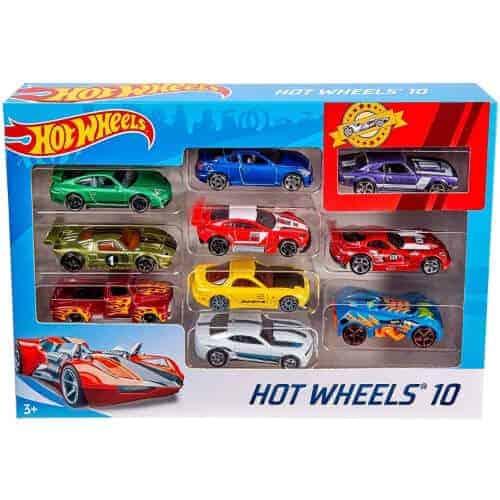 gift idea - hot wheels 10 cars pack