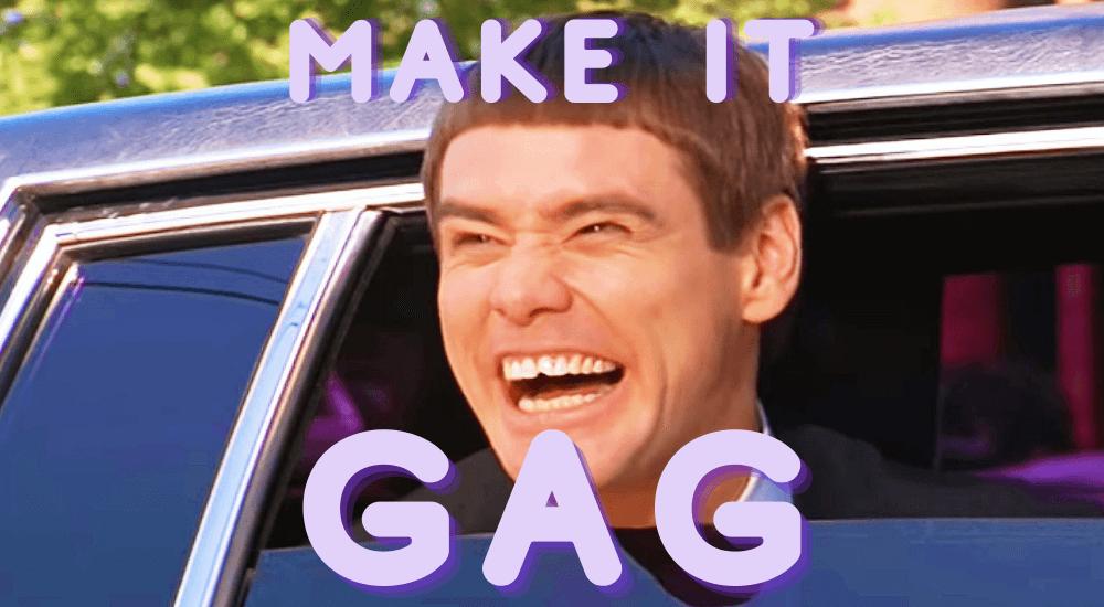 gift idea - make it gag jim carrey