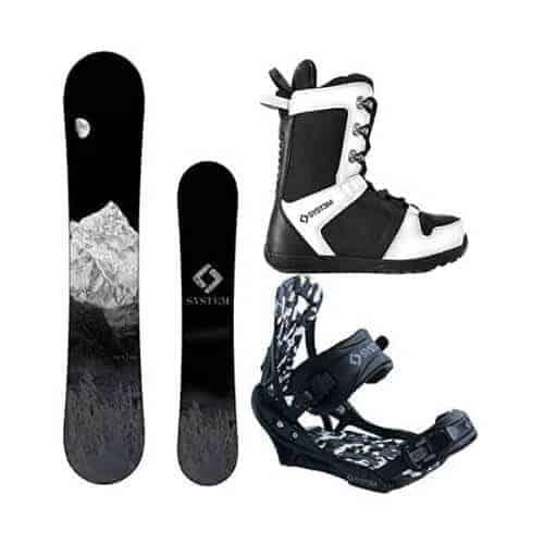 gift idea - men snowboard package