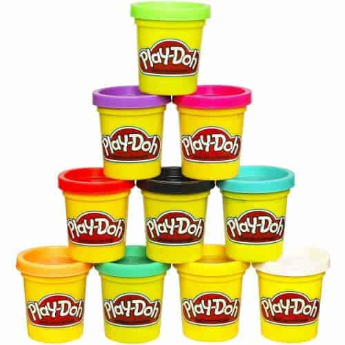 gift idea - play doh 10 colors set