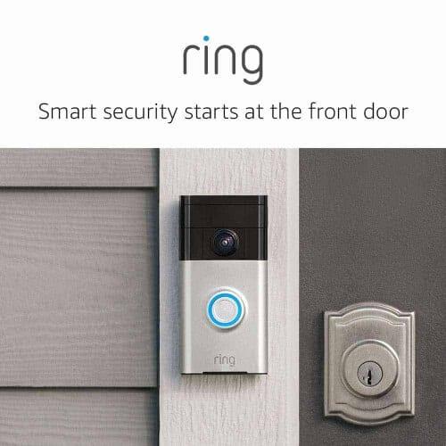 gift idea - ring video doorbell