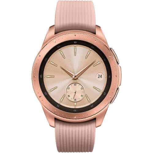 gift idea - samsung galaxy smart watch rose gold