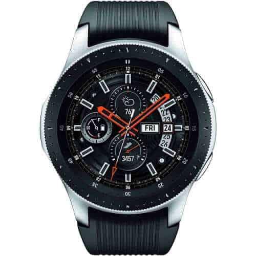 gift idea - samsung galaxy smart watch silver black