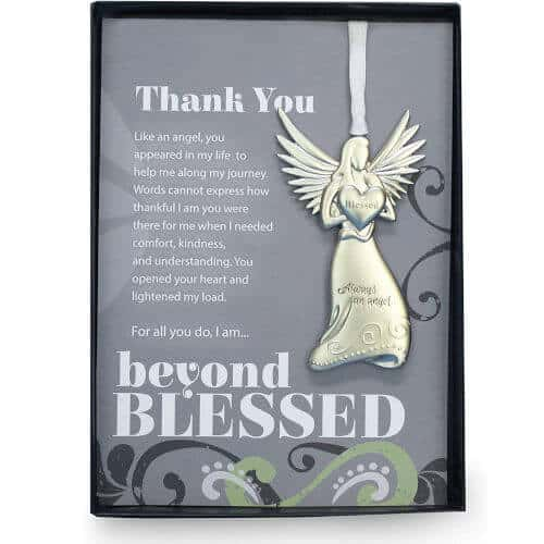 gift idea - Beyond Blessed Angels with Sentiment Thank You Gift