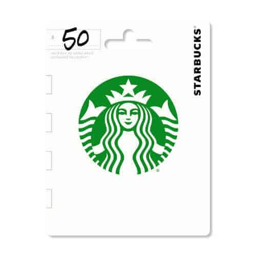 gift idea - Starbucks Gift Card