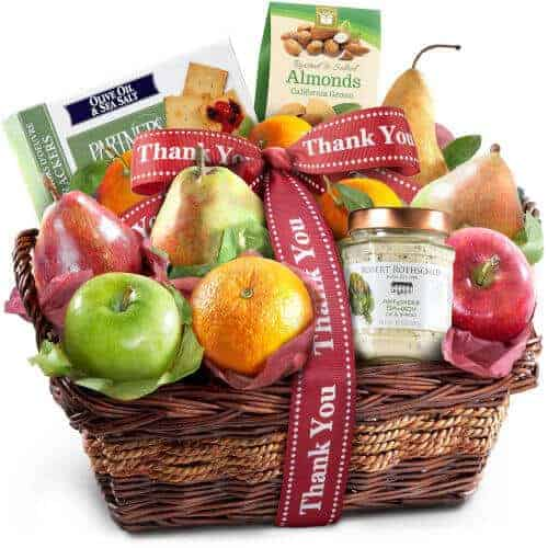 gift idea - Thank You Fruit Basket
