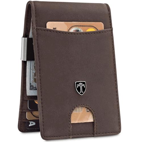 gift idea - money clip wallet