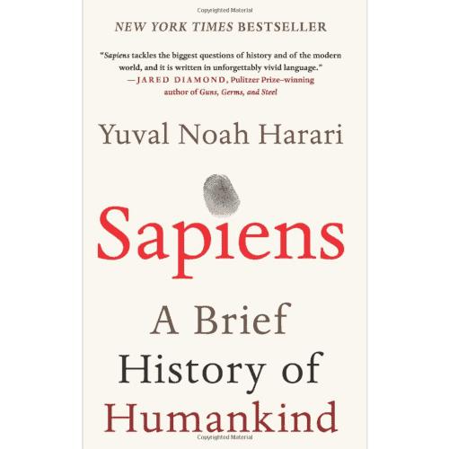 gift idea - sapiens harari book