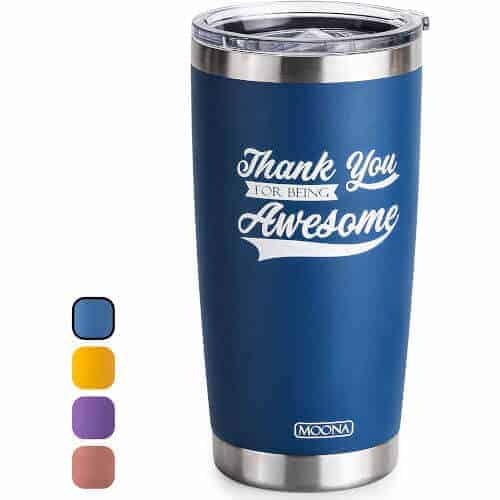gift idea - thank you steel tumbler