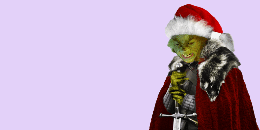 The Grinch Christmas is coming meme